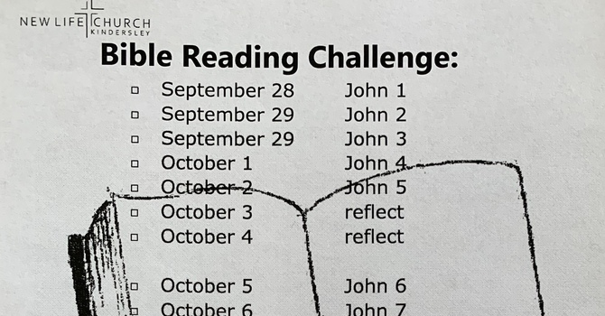 Bible Reading Challenge image