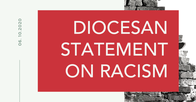 Diocesan statement on racism image