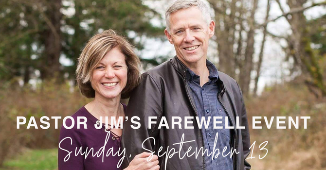 Pastor Jim's Farewell Service