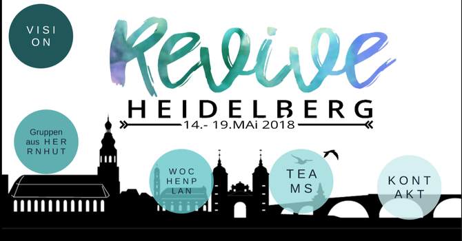 YWAM Herrnhut comes to Heidelberg May 14-19