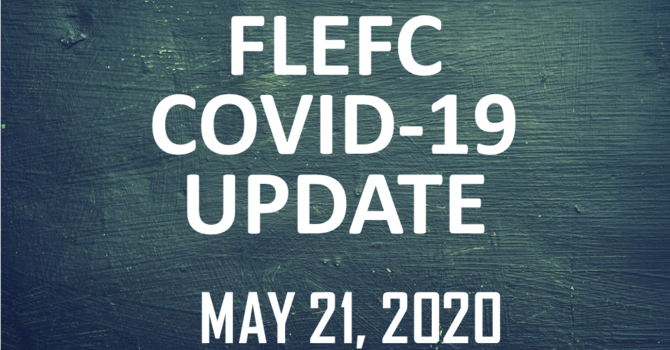 FLEFC COVID-19 Update: May 21 image