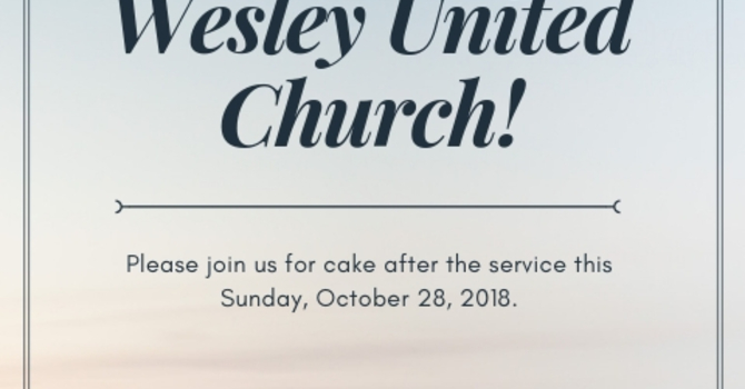 Happy 60th Anniversary, Wesley! image