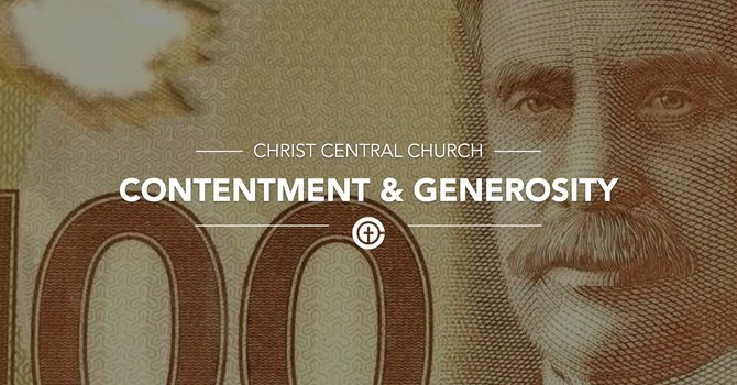 Contentment & Generosity