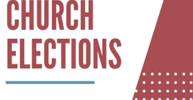 Annual Church Elections