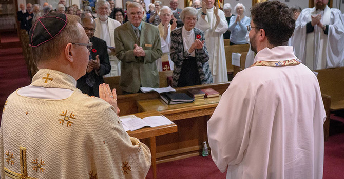 All Saints', Ladner Welcomes Father Robin image