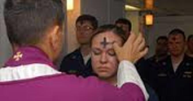 Ash Wednesday Service image