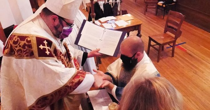 'We continue to love God and love each other' - New clergy on being ordained during the pandemic image