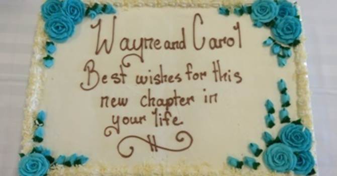 Farewell to Wayne and Carol image