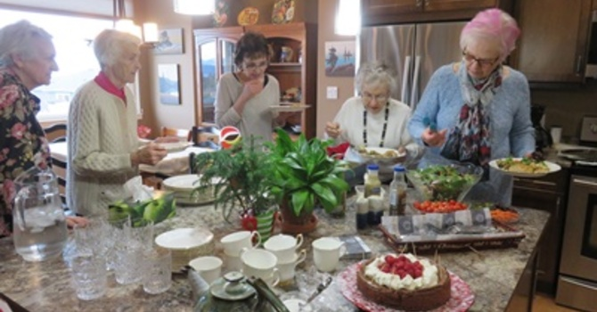 Olive McPhedran UCW New Year Luncheon image