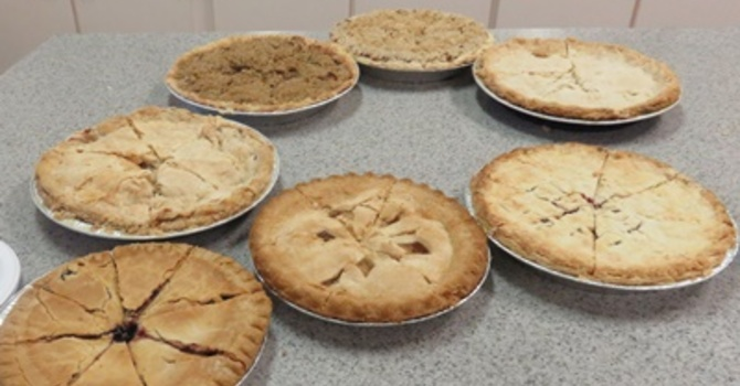 Olive McPhedran UCW Annual Pie Sale image