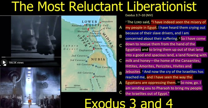 Moses: the Most Reluctant Liberationist