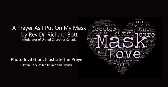 A Prayer as I put On My Mask image
