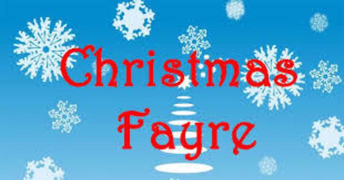 UCW  Christmas Fayre image