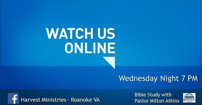 Wednesday Night Bible Study-Virtual