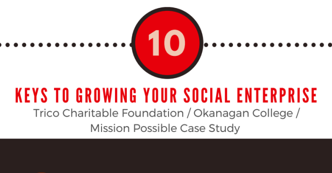 10 Keys to Growing Your Social Enterprise - Infographic image