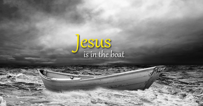 Jesus is in the boat