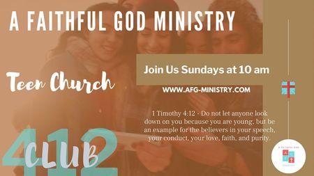 Club 412 Youth Online Church