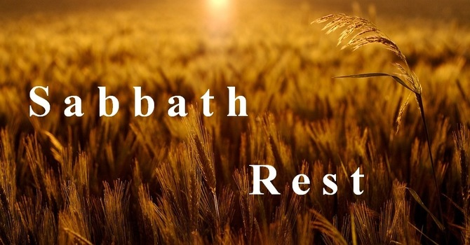 "Sabbath Rest and ""Good Enough"" image"
