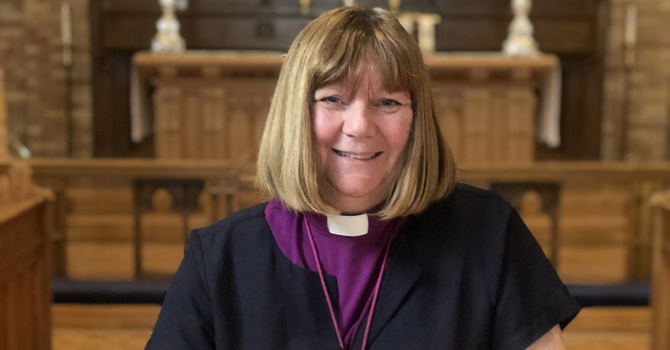 Bishop Jane Shares Tale of Blessings with C of E Newspaper image