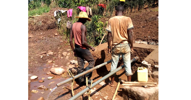 St. David's, Edmonton supports fresh water initiative in Burundi image