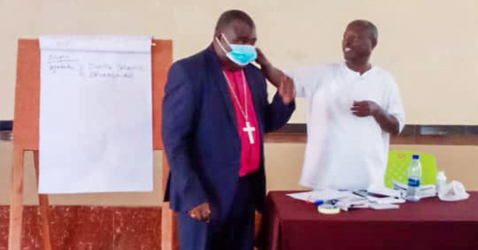 Buye Diocese Raising Awareness for COVID-19 Spread Prevention