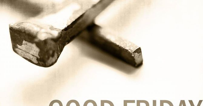 A Reflection for Good Friday in Holy Week image