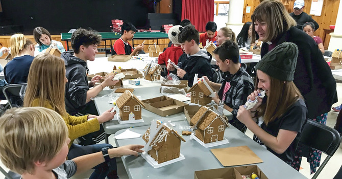 Young Anglican Creatives Construct Sweet Gingerbread Cottages image