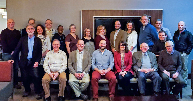 Diocesan Executive Archdeacons/Officers and Finance Officers Meet in Edmonton image