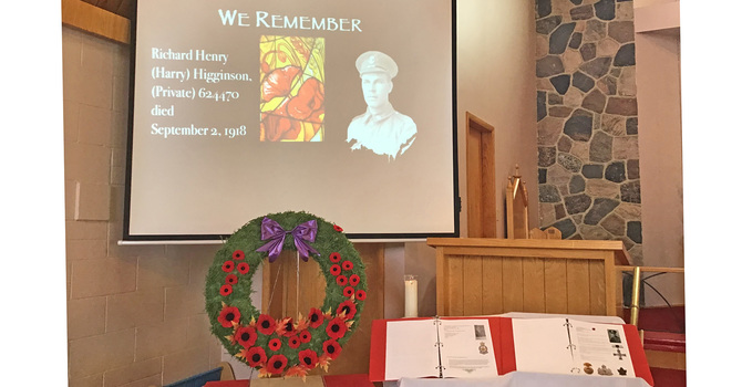 Remembrance at Immanuel image