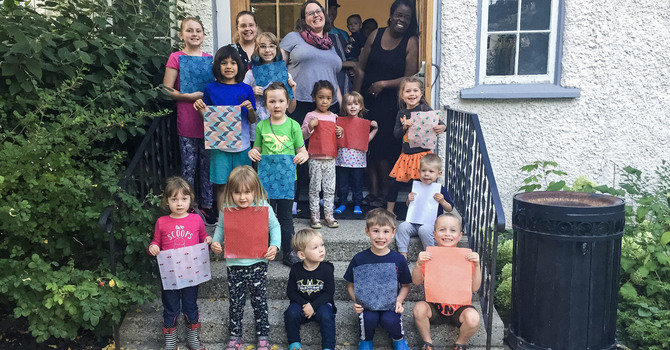 Christ Church Families Celebrate Creation Messy Church Style image