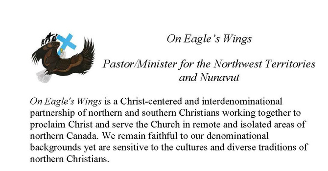 On Eagle's Wings Seeking NWT/Nunavut Minister image