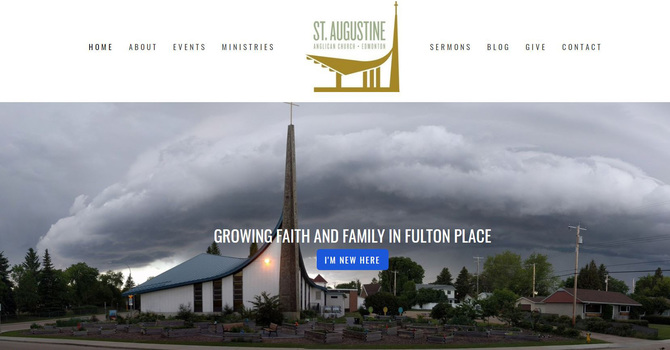 St. Augustine's Welcomes Virtual Visitors on New Website image