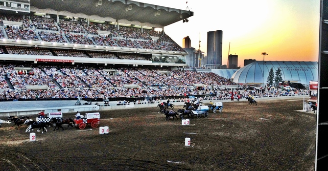 Rodeo, Chuck wagons, Grandstand Show & Fireworks