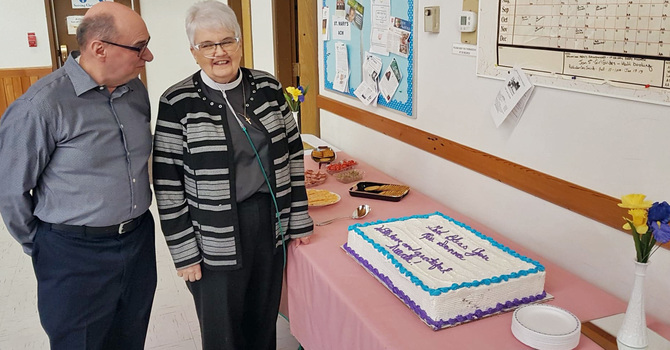 The Rev. Donna Willer's Retirement Tea image