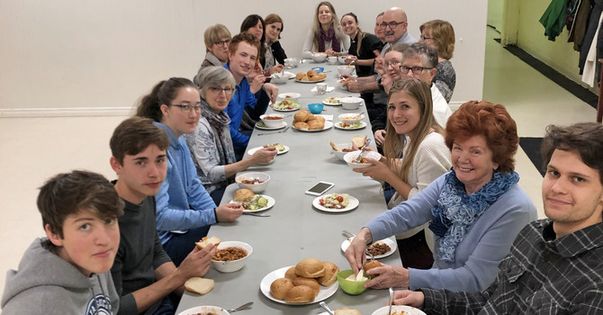 Breaking Bread Together on Campus image