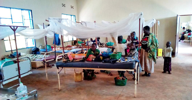 Recently Completed Pediatric Ward Improving Health of Buye Partners