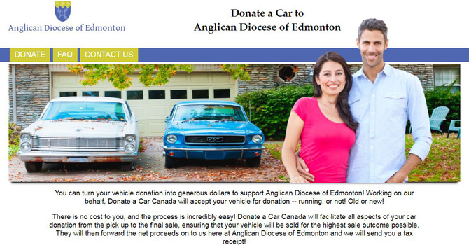 Gift a Car to the Diocese image