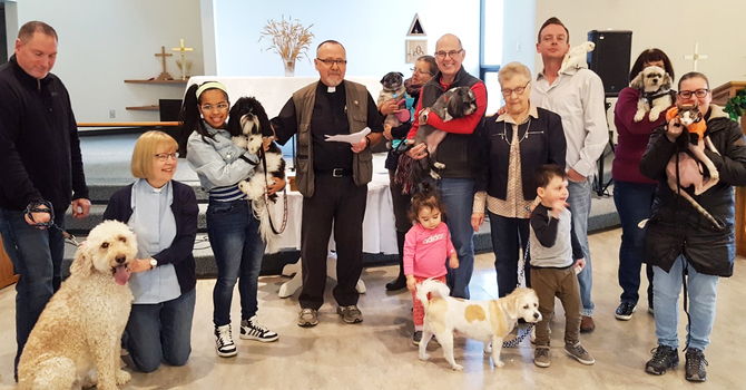 Holy Trinity Riverbend Raises Donation for Humane Society image