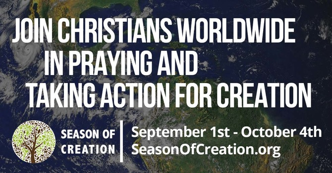 Pray and Take Action for Creation image