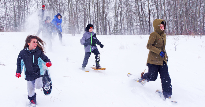 Full-Moon Youth Winter Adventure Camp image