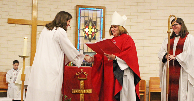 Good Shepherd Induction image