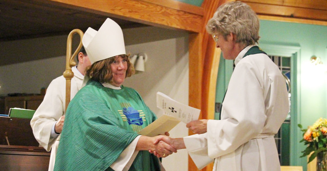 St. David's Celebrates New Ministry image
