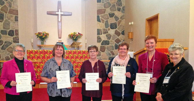 ACW Life Memberships Presented at Whitemud Regional image