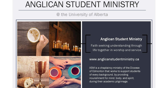 Anglican Student Ministry a Presence on/off Campus  image