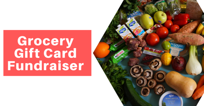 Grocery Gift Card Fundraiser image
