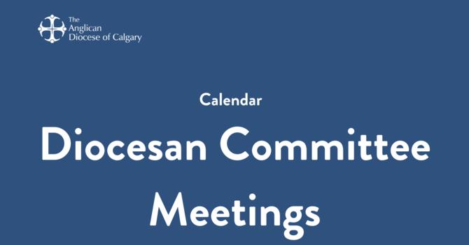 Diocesan Committee Meetings image