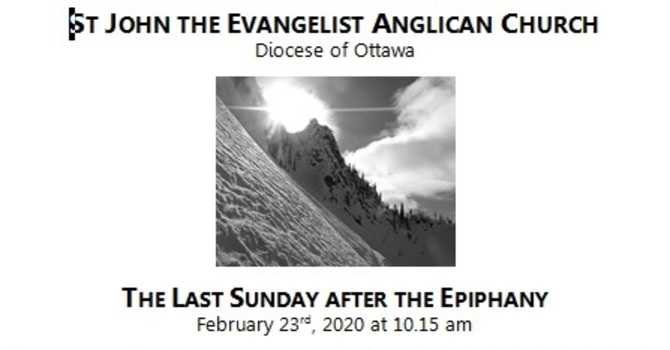 The Last Sunday after the Epiphany