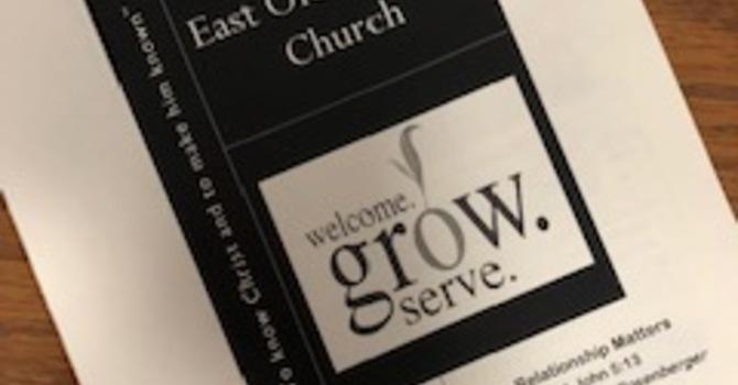 November 4, 2018 Church  Bulletin image