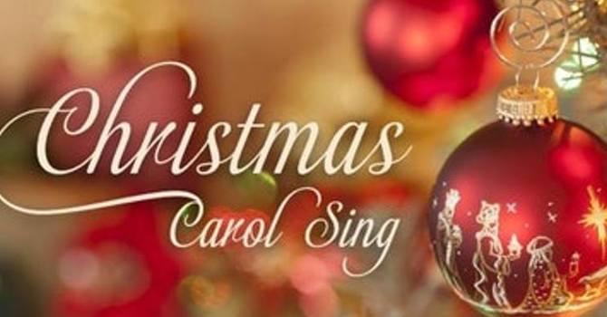 """Christmas & Music at Chedoke"" Carol sing image"