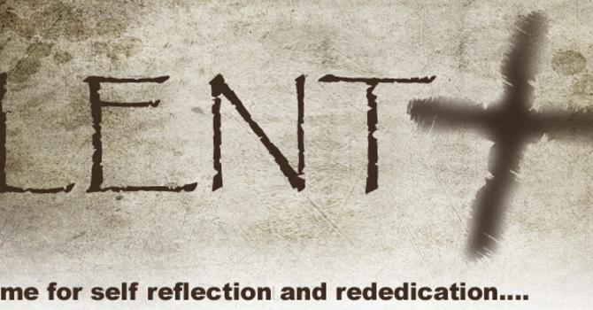 Opportunites for Lent image